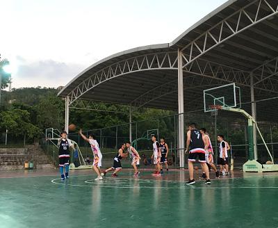 珠海竞博体育jbo成立第一个社团——篮球社